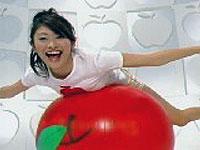 山田優 朝食りんごヨーグルト